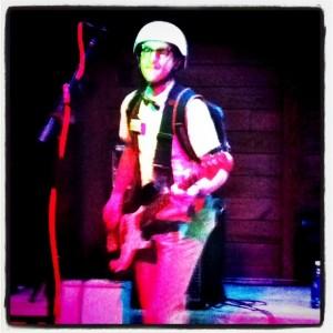 The Spazmatics' guitarist, Geoffrey