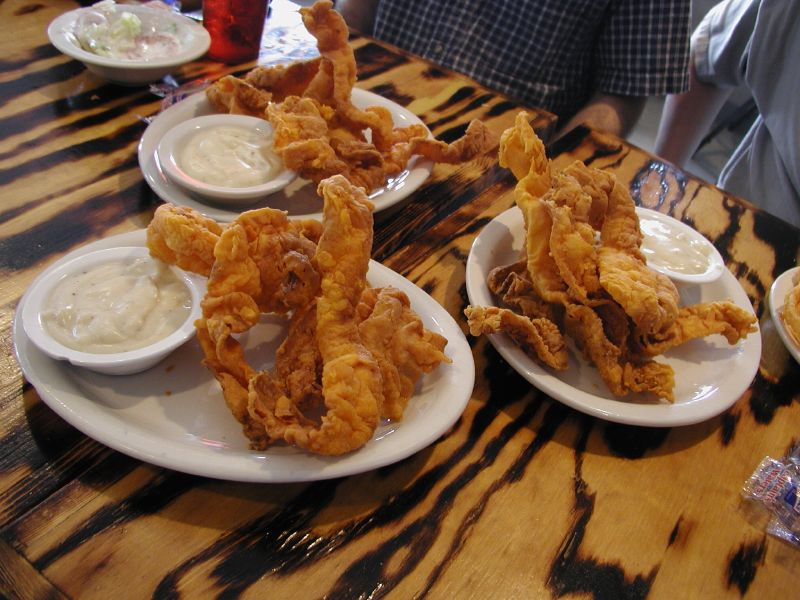 photo of chicken-fried bacon by Cara Fealy Choate