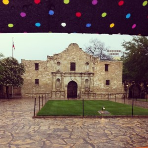 To me, the Alamo is mostly rain and crowds. Score another one for Austin.