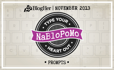 NaBloPoMo November 2013 logo