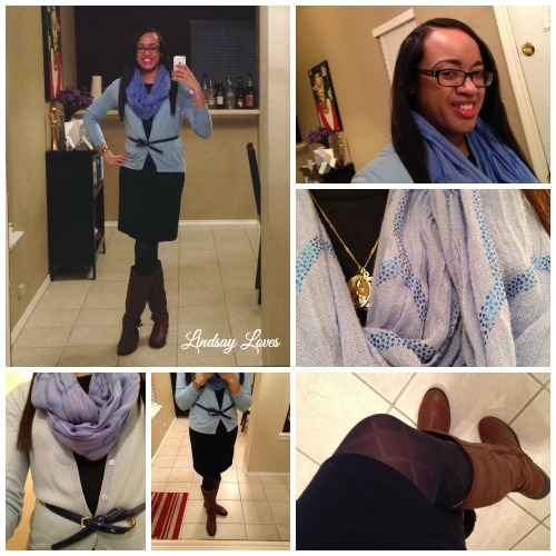 What I Wore Sunday, March 8, 2015 collage