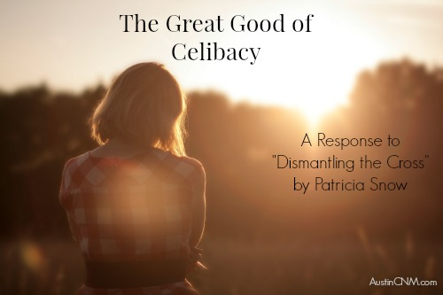 "The Great Good of Celibacy: A Response to ""Dismantling the Cross,"" by Patricia Snow at AustinCNM.com"