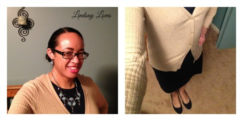 What I Wore Christmas Eve