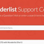 """GTD with Wunderlist – Part I"" Is Available Here!"