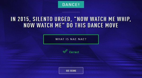 "In 2015, Silento urged, ""Now watch me whip, now watch me"" do this dance move. What is nae nae?"