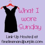What I Wore Sunday: Whirlwind Dressing