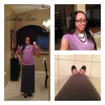 What I Wore Sunday: Purple & Gray