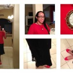 What I Wore Sunday: Hidden Red for the Passion